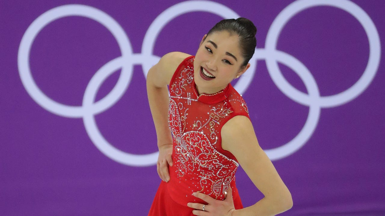 Dan Powers' images from figure skating team competition at Winter Olympics 2018.