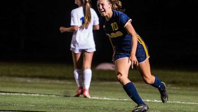 Elco's rising senior soccer star Ryelle Shuey is preparing for her final season of high school soccer by competing for the Inferno Rush pro-am women's soccer team in Lancaster.
