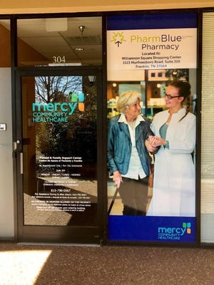An in-house pharmacy is one of several new additions to Mercy Community Healthcare's offices in Franklin.