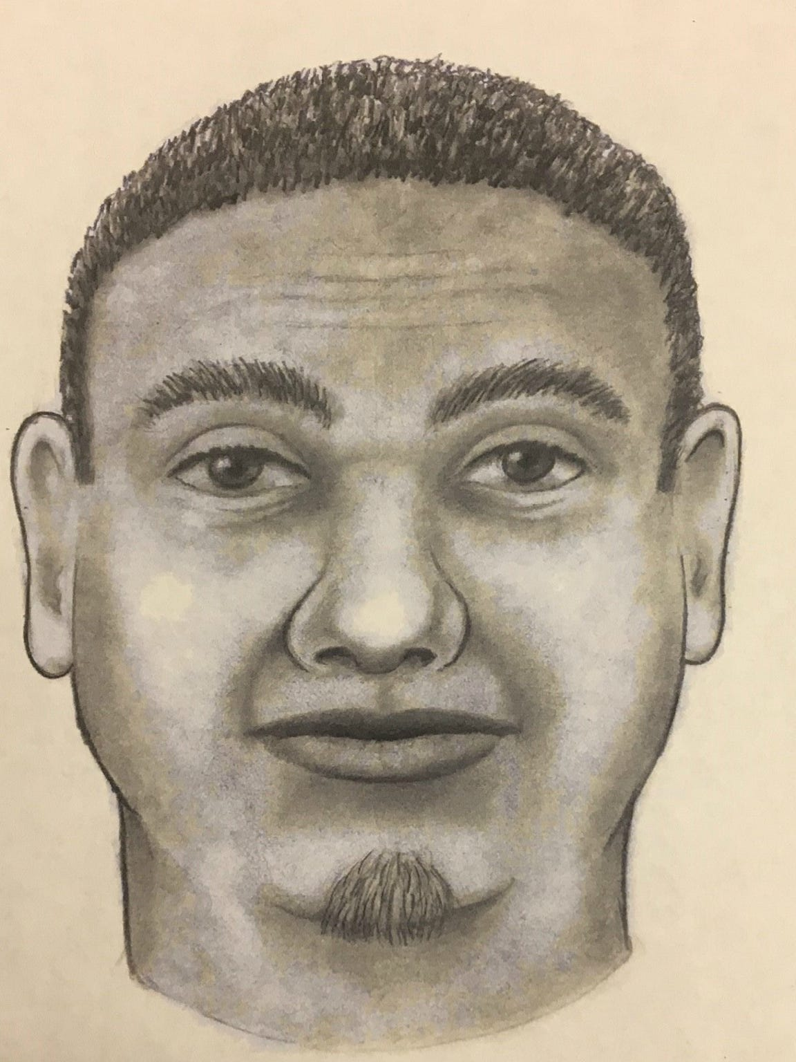 Yuma police circulated this sketch of a the man suspected