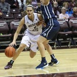 Kenzie Williams is averaging 17 points per game during the Lady Bears' five-game winning streak.