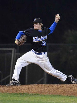 Ryan Deckert finished his TCC career with a 3.75 ERA in 25.