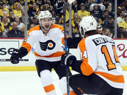 NHL  Stanley Cup Playoffs-Philadelphia Flyers at Pittsburgh Penguins 0a3edb099