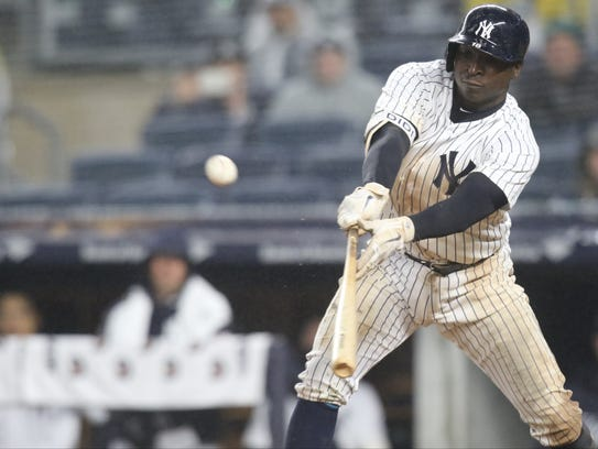 Didi Gregorius got another hit in the eighth inning