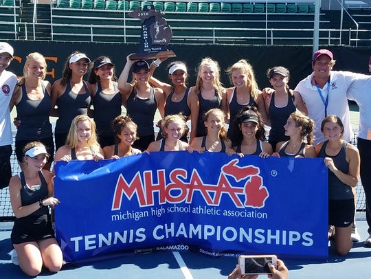 Birmingham Seaholm soared to its sixth girls tennis