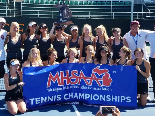 Birmingham Seaholm soared to its sixth girls tennis state championship in program history -- the first under head coach Casey Cullen.