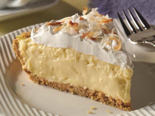 Easy coconut cream pie only requires five ingredients.