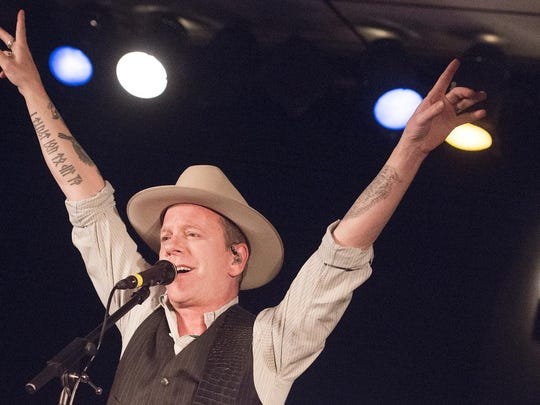 """Actor Kiefer Sutherland previewed songs from his debut country album """"Down in a Hole"""" at Shank Hall Thursday, the first show of his first tour."""