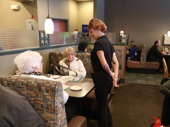 Debra Pizzo, server at Bella Pasta Restaurant located