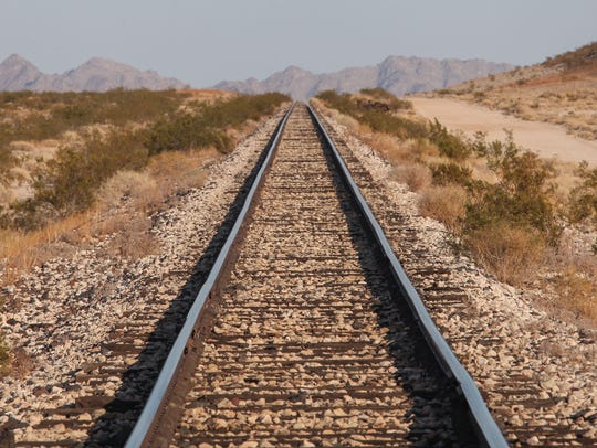 Cadiz Inc. wants to build a pipeline along this rail