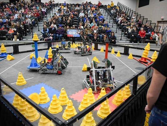 VEX Robotics State Championship 1098