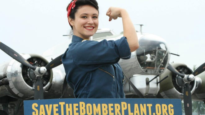 Alison Beatty of Ann Arbor started dressing as World War II icon Rosie the Riveter to help save the Willow Run Bomber plant in Ypsilanti.