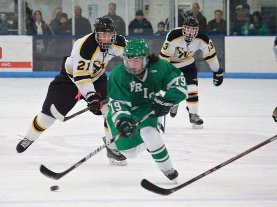 Michael Mooney of Brick Township ice hockey