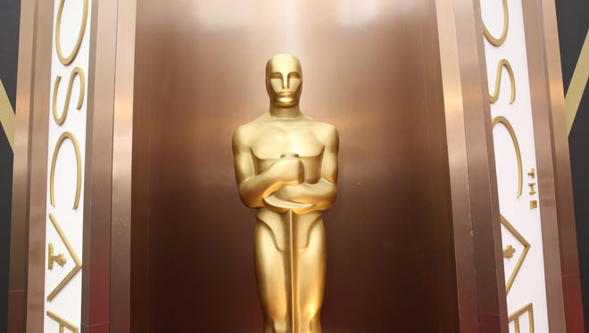 The Oscars start at 7 p.m. Sunday.