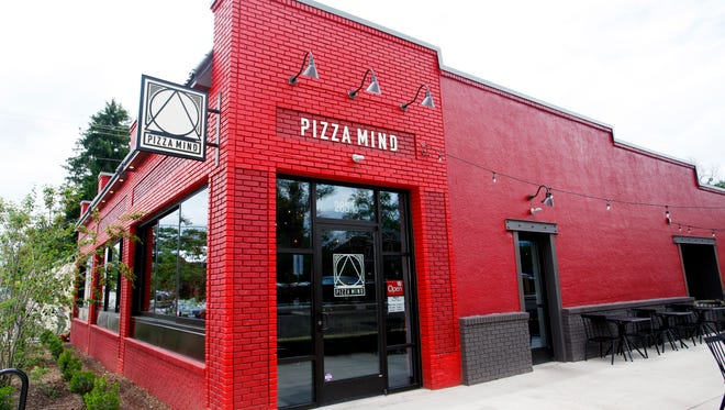 On West Asheville's Beacham's Curve is the new Pizza Mind, by the owners of WALK.