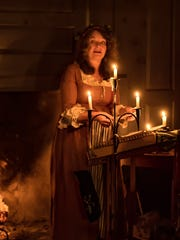 Linda Russell performs at the Old Dutch Parsonage in Somerville.