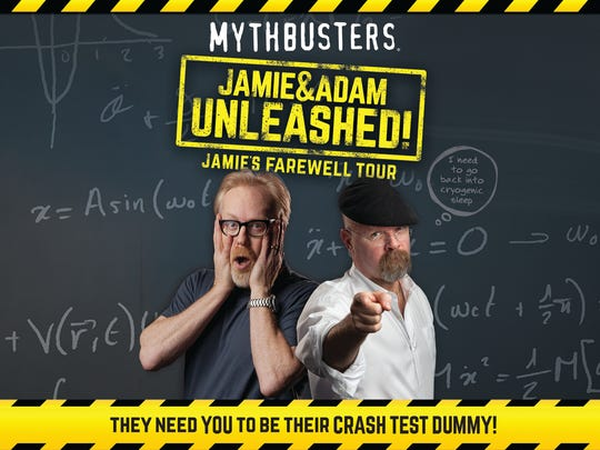 """The stars of """"Mythbusters"""" will be at NJPAC on Nov. 22."""