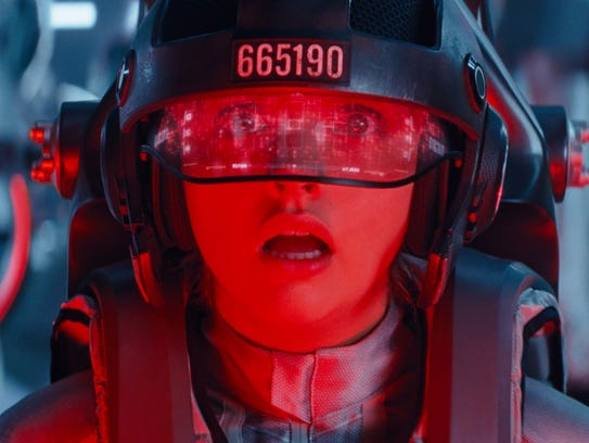 """Olivia Cooke lives virtually in """"Ready Player One."""""""