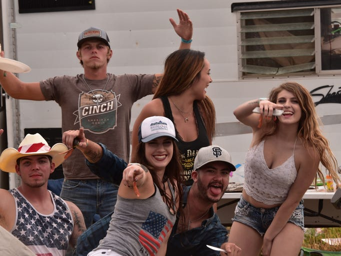 Scenes from Day 3 at Night in the Country 2017
