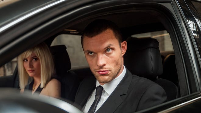 Ed Skrein (right) and Loan Chabanol star in 'The Transporter Refueled.'