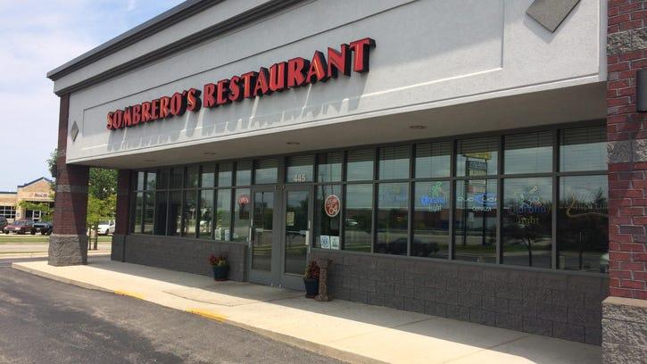 Sombrero's Restaurant, 445 N. Pioneer Road, faces a