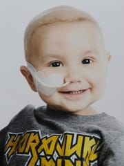 Matthew Pierce died when he was 2 years old. He was born with a blood cancer. In his honor, his father will get his head shaved Sept. 13 during a St. Baldrick event in Salinas to help fund research and find a cure for childhood cancers.