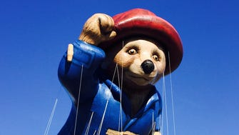 Paddington Bear is one of the new giant balloons in the 2014 Thanksgiving Day parade.