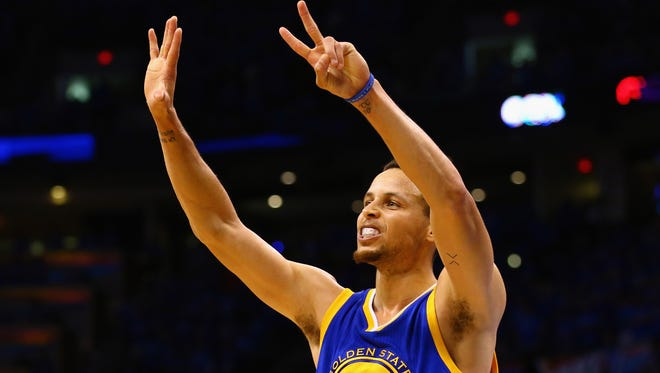 Stephen Curry, the Golden State Warriors and their game against the Oklahoma City Thunder played in the highest rated Game 6 of all time.
