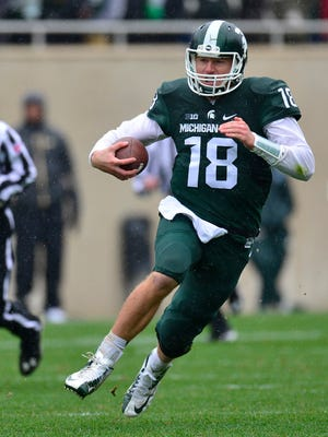 Connor Cook was taken by the Raiders in the fourth round Saturday.
