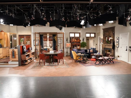Will Truman's apartment, decorated by Peter Gurski,