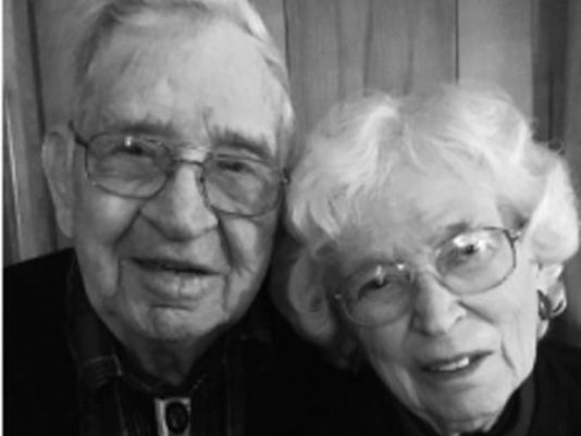 Anniversaries: Wilmer Peterson & Jeanette Peterson