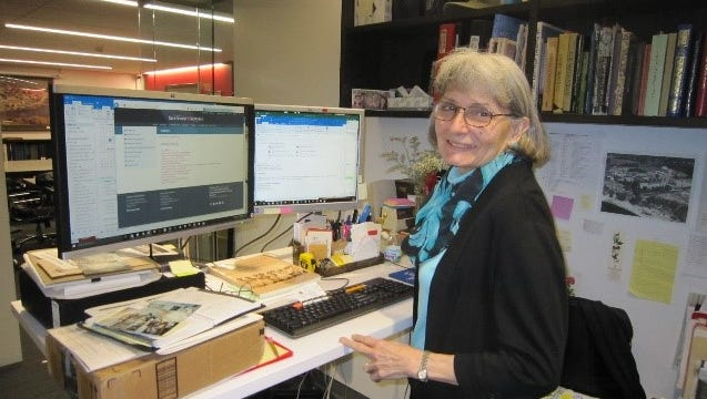 Peggy Roske is the archivist for the College of St. Benedict and St John's University.