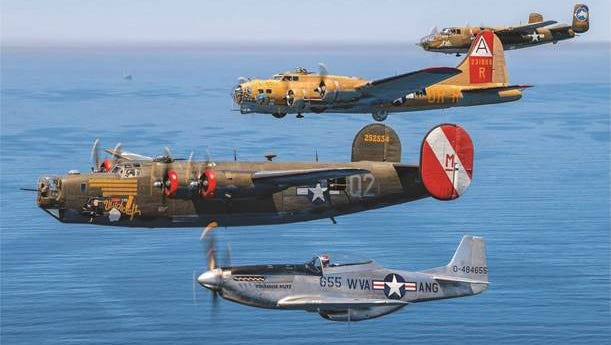 The Collings Foundation's Wings of Freedom Tour will land in Millville Wednesday for a three-day visit.