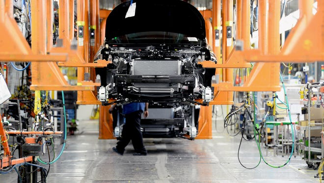 About 3,200 General Motors employees at the Delta Township Assembly Plant returned to work this week after the Detroit-based automaker completed a more than half a billion dollar retooling and expansion project. The plant produces the Acadia, Chevy Traverse and Buick Enclave crossovers.