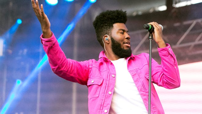 Singer-songwriter Khalid performs to an enthusiastic hometown crowd at the Neon Desert Music Festival 2017 Sunday night, May 28 in downtown El Paso.