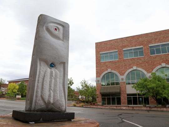 """""""Butterfly,"""" a sculpture by Patrick Sullivan, is part"""