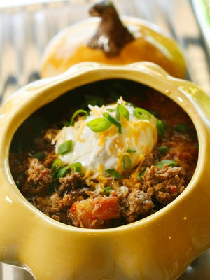 Consider adding pumpkin to your next batch of chili.