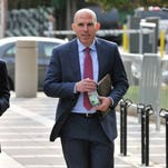 Scott Rechler testified Thursday, Oct. 20, 2016, in the Bridgegate trial. He is a former vice chairman of the Port Authority appointed by Gov. Andrew Cuomo.