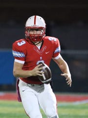 South Salem quarterback Gabe Matthews passed for 2,257 yards and 35 TDs this season.
