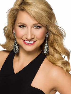 Miss Johnson County 2016 Christy Scimeca will compete in the three-day Miss Iowa pageant this week.