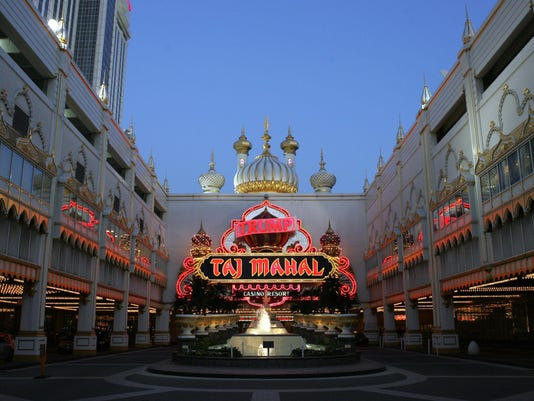 The Trump Taj Mahal Hotel and Casino in
