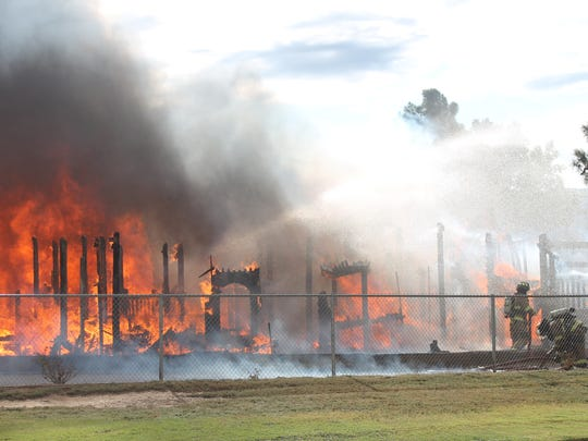 Kids Kingdom, a wooden park built in 1995, erupted in flames on Friday morning. The investigation into the cause of the fire is still underway.