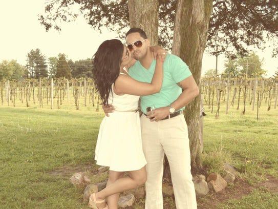 Jenny Perez-Rosado and her husband, Rick.
