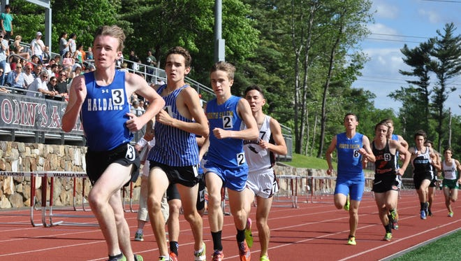 The Section 1 Class C track and field championships at Valhalla High School on May 26, 2017.