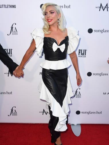 Lady Gaga attends The Daily Front Row's 5th Annual
