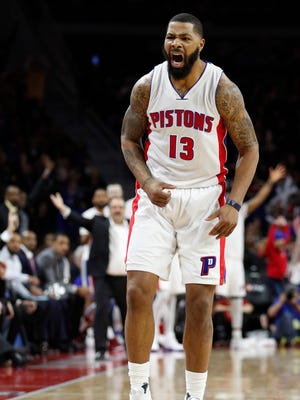 Pistons forward Marcus Morris.