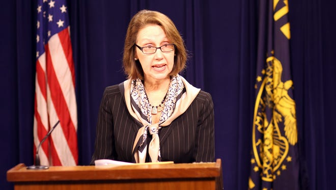 Oregon Attorney General Ellen Rosenblum spoke Wednesday about the state needing tougher laws on how citizen's private information is used by corporations.