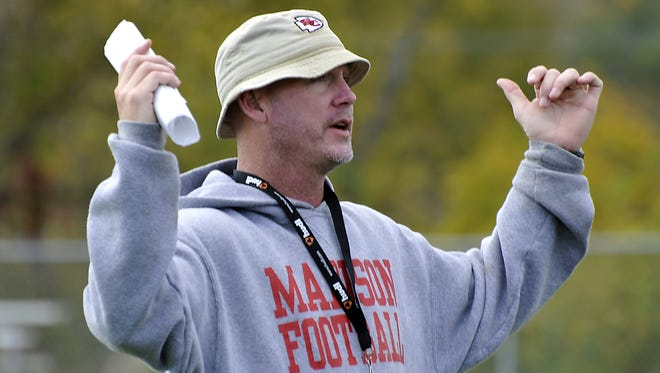 Mark Gosnell said Monday that he has resigned as Madison's athletic director and football coach.