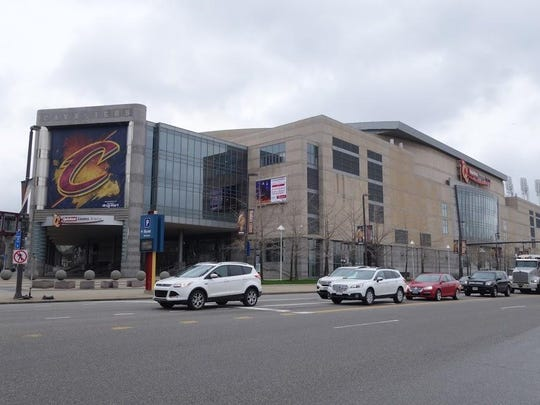 Quicken Loans Arena in Cleveland.