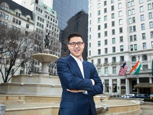 Christopher Rim is the Chief Executive Officer of his company Command Education, a company that assists high school students attend the collge of their choice,  located on Fifth Ave. in Manhattan.